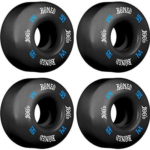 人気特価 Bones Wheels V4 100's OG #12 V4 OG ブラック ブルー (4個セット)/ホワイト スケートボードホイール - 53mm 100a (4個セット) B07JH7TMHM, クマコウゲンチョウ:fb56a95c --- mvd.ee