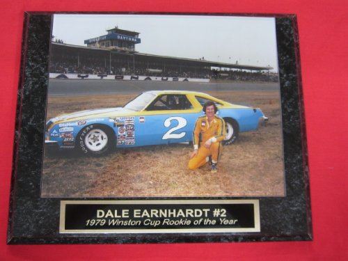 Dale Earnhardt Sr #2 ROOKIE OF THE YEAR Collector Plaque #6 w/VINTAGE 1979 8x10 Photo!