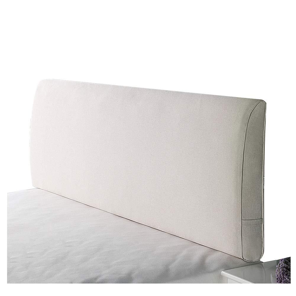 ベッドサイド 150cm クッション ベッドサイド ベッドの背もたれヘッドボード付き/なしのフィットベッド リネン Yellow-A, 取り外し可能かつ洗濯可能、 8色 (色 : Yellow-A, サイズ さいず : 200cm) B07R7SNHYY 150cm|Creamy white-B Creamy white-B 150cm, モバックス:2dfb4aab --- koreandrama.store