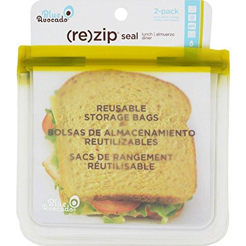 2pack-blue-avocado-lunch-bag-re-zip-seal-green-2-pack