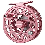 Piscifun Sword Fly Fishing Reel with CNC-machined Aluminum Alloy Body 9/10 Pink