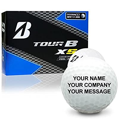 Bridgestone Tour B XS Personalized Golf Balls