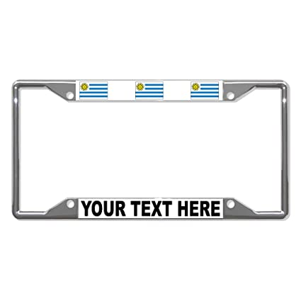 Amazon.com: Custom Text Personlized Uruguay Country Flag ...
