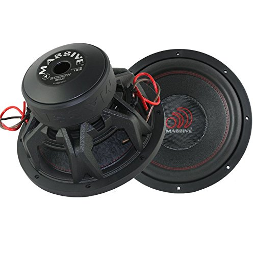 Massive Audio TOROX124 - 12 Inch Car Audio 2000 Watt TORO...
