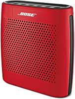 Bose SoundLink Color Bocina Portátil Bluetooth, Rojo