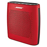 Bose SoundLink Color Bluetooth Speaker (Black) 29 Clear, full-range sound you might not expect from a compact speaker Voice prompts make pairing your devices easier than ever Up to 8 hours of music from rechargeable lithium-ion battery