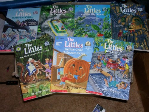 The Littles Book Set: Littles Give a Party, Littles and the Lost Children, Littles Go Exploring, Littles and the Big Storm, Littles Take a Trip, Littles and the Great Halloween Scare, and Littles and Their Amazing New Friend (The Littles And The Great Halloween Scare)