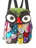 New Thai Handmade Adorable Patchwork Owl Back Pack Bag Full Color 5, Bags Central