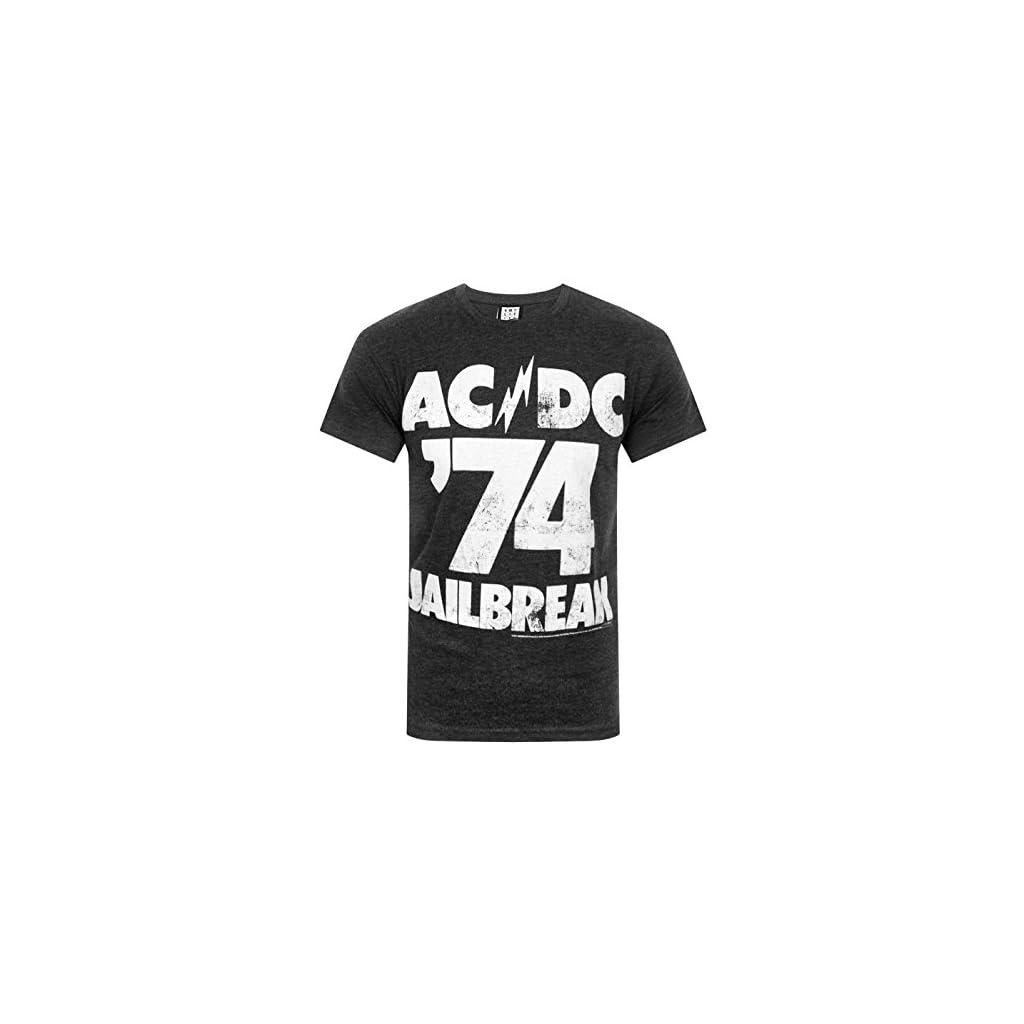 Camiseta Oficial Modelo AC/DC Jailbreak