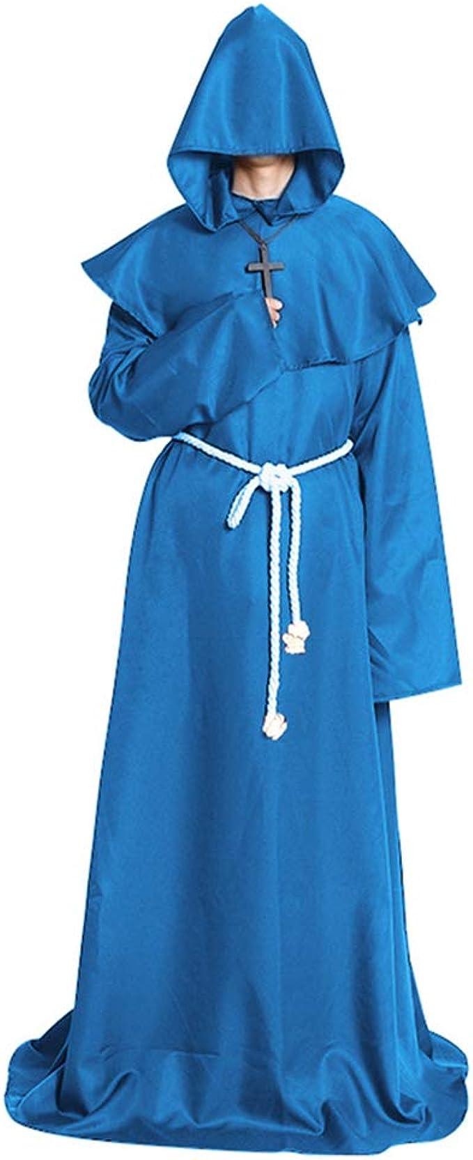 Amazon.com: Halloween disfrazes medievales sacerdotes ...