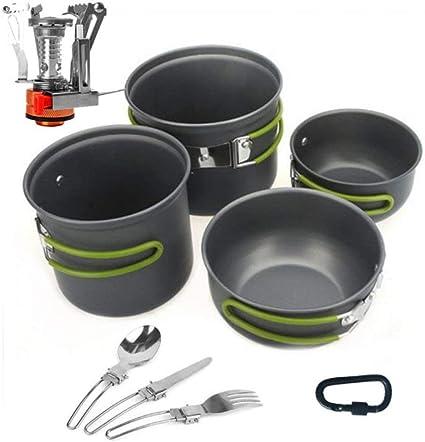 Glhkkp-sp Utensilios de Cocina para Camping Equipo de Cocina ...