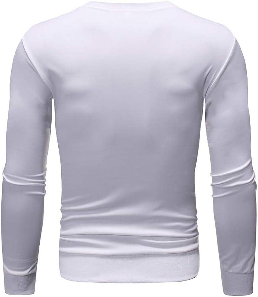Sylar Sudadera para Hombre Casual Tops Deporte Blusa Manga Larga Blanca/Negro Beisbol Camisas para Otoño Camiseta Blusa Tops Cuello Redondo Jerséis Estampado Letras: Amazon.es: Ropa y accesorios