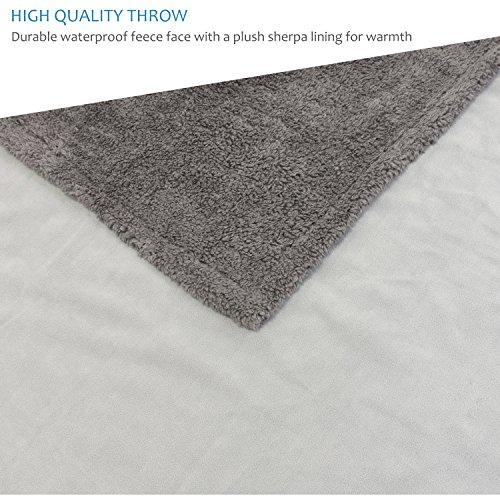 Pawsse Waterproof Dog Blanket Pet Pee Proof Cover Throws