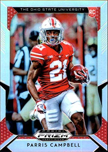 2019 Panini Prizm Draft Picks Prizms Silver #120 Parris Campbell Ohio State Buckeyes NCAA College Football Trading Card