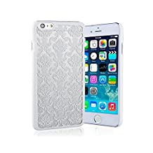 iPhone 5/5s Henna Flower Hard Back Phone Case / Cover for Apple iPhone 5s 5 SE / Screen Protector & Cloth / iCHOOSE / White