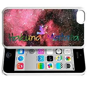 Africa Ancient Proverb HAKUNA MATATA Color Accelerating Universe Star Design Pattern HD Durable Hard Plastic Case Cover for iPhone 6 plus 5.5 WANGJING JINDA