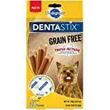 Pedigree Dentastix Grain Free Mini Dental Treats For Small Breed Dogs (7, 21-Count Packs, 147 Total Treats)