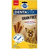 Pedigree Dentastix Grain Free Mini Dental Treats For Small Breed Dogs (7, 21-Count Packs, 147 Total Treats) For Sale