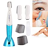 Best Female Electric Razors - Women Electric Eyebrow Trimmer Facial Hair Remover Shaver Review