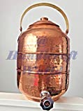 Copper 3.6 gal 13.6 liter Water Pot Dispenser Storage Tank With Tap Kitchen