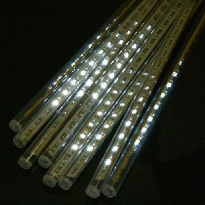30cm LED Meteor Shower Rain Tube Lights Outdoor Tree Decoration (White)