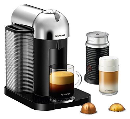 Breville BNV250CRO1BUC1 Nespresso Vertuo Coffee and Espresso Machine with Aeroccino, Chrome