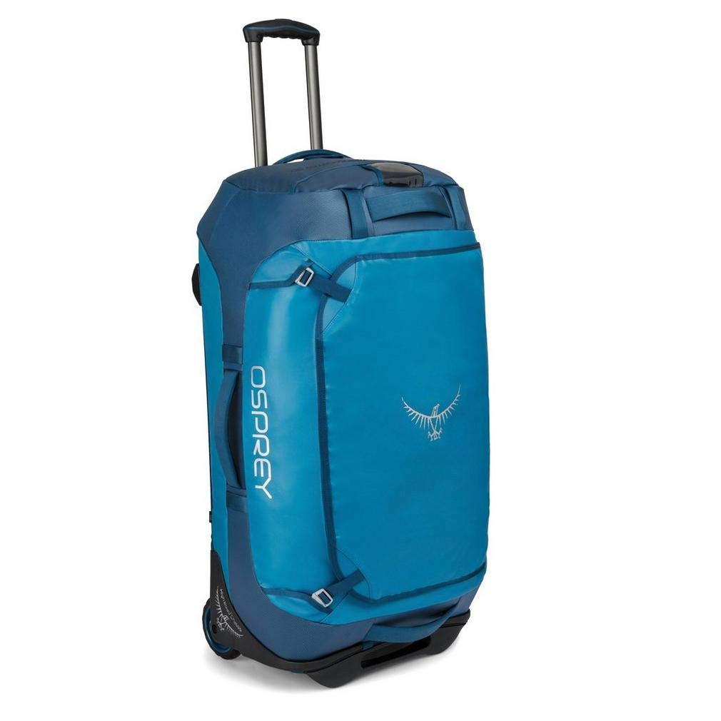 Osprey Packs Rolling Transporter 90 Duffel Bag, Kingfisher Blue