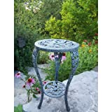 Oakland Living Grape Table Plant Stand, Verdi Grey