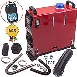 5KW 12V Diesel Air Heater 10L Tank Vent LCD Thermostat Monitor + Silencer for Bus Van Boat Trucks