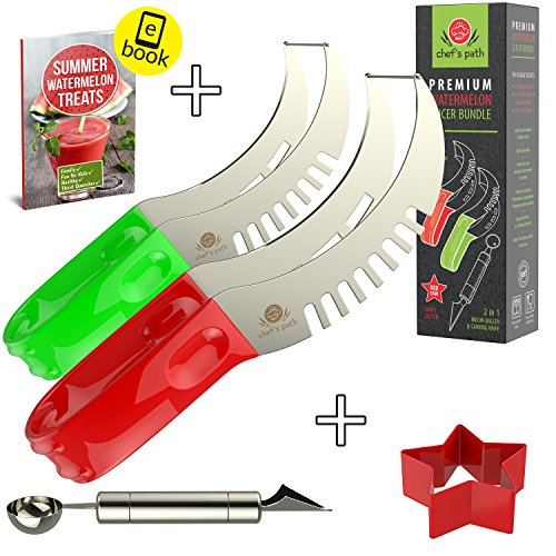 WATERMELON SLICER Thickest Cutting Carving product image