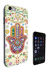 052 - Sony Xperia Z1 Lucky Sharm Floral Hamsa Hand Shaby Chic Design iphone 6 6S 4.7'