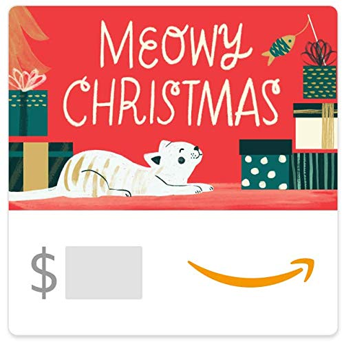 Amazon eGift Card - Meowy Christmas (Best Friend Pet Store Virginia)