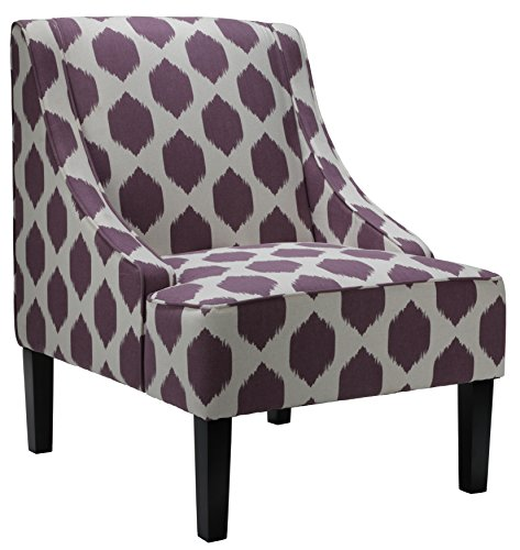 Club Chair Casual (Purple) - 4
