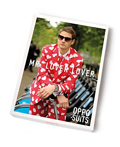 Mr Lover Lover Opposuits Costume UK 48 / EU 58 Suit Adult Fancy Dress Costume
