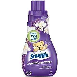 Snuggle Exhilarations Liquid Fabric Softener, Lavender & Vanilla Orchid, 32 Fluid Ounces