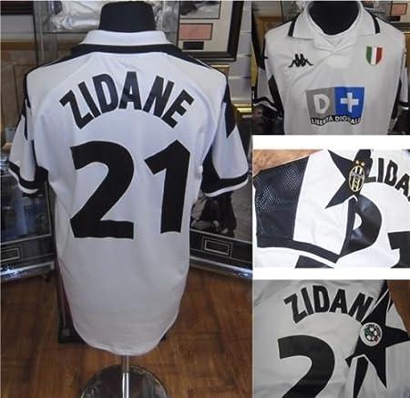 buy online 2532c 3b992 Zinedine Zidane Match Worn/Issued Juventus 1998/99 Away ...