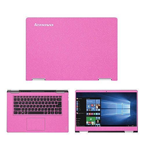 Sparkling Pink skin decal wrap skin Case for Lenovo Yoga 710 15.6 Touch Screen Laptop