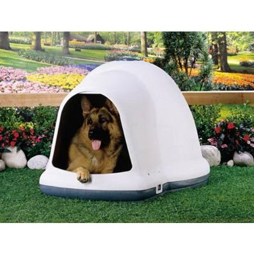 Amazon petmate dogloo with microban 90 125 lb taupeblack amazon petmate dogloo with microban 90 125 lb taupeblack dog houses pet supplies eventshaper