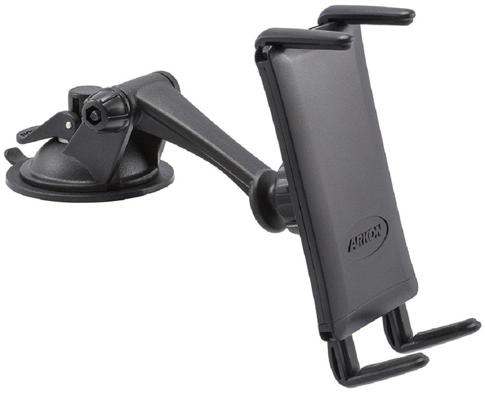 Arkon Windshield Dash Phone Car Mount for iPhone X 8 7 6S Plus 8 7 6S Galaxy Note Edge 8 S8 S7 Retail Black SM679
