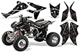 2004-2014 Honda TRX450R AMRRACING ATV Graphics Decal kit-Reaper-Black
