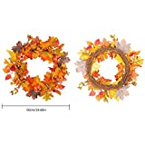 COREYCHEN Autumn Christmas Wreath Home Decoration Hotel Shopping Mall Decoration Pendant Wreath