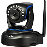 Wansview 1080P Wireless IP Camera,Pan/Tilt WiFi IP Security Camera,Plug/Play Home Surveillance Camera with Baby Monitor Video,Two-Way Audio and Night Vision