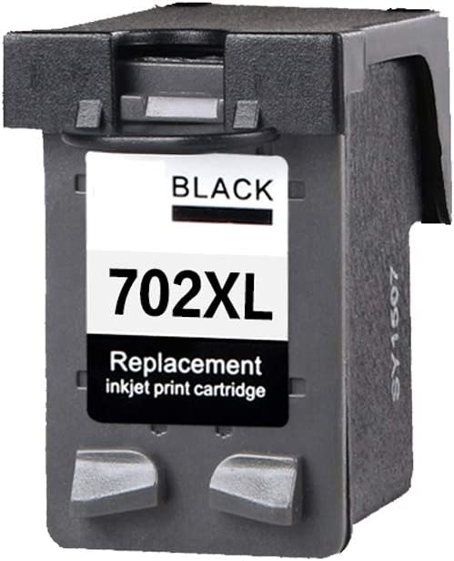 for HP 22 Ink Cartridge J3606 J3600 Ink Cartridge J3608 Printer J3508 J3508 J5508 Printing Machine cartridge-2-set for HP 702 Ink Cartridge GYBN Printer Cartridge Large Capacity Black Color