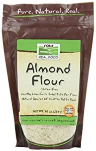NOW Foods Almond Flour,  10-Ounce (Pack of 4)