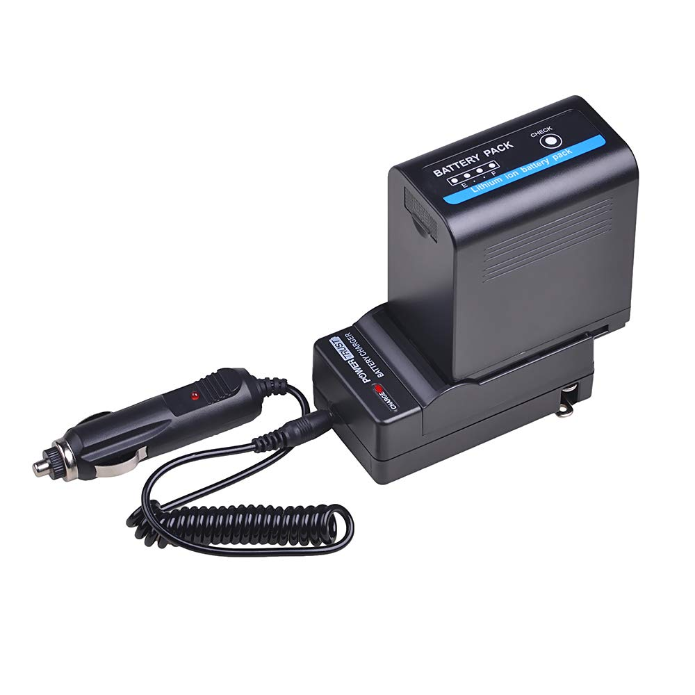 PowerTrust SSL-JVC70 JVC70 交換用バッテリーと充電器キット 1個 JVC SSL-JVC50 SSL JVC70 JVC GY-HMQ10 GY-HM200 GY-LS300 ビデオカメラバッテリー用   B07K7BMBG2