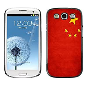 Shell-Star ( National Flag Series-People's Republic of China ) Snap On Hard Protective Case For Samsung Galaxy S3 III / i9300 i717