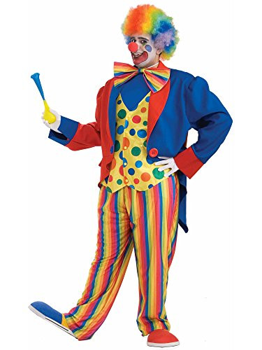 Forum Novelties Men's Plus-Size Big Fun XXX-Large Clown Costume, Multi, Plus ()