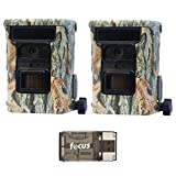 2X Browning Defender 940 WiFi and Bluetooth Trail Game Cameras (20MP) | BTC10D | with Focus USB Card Reader