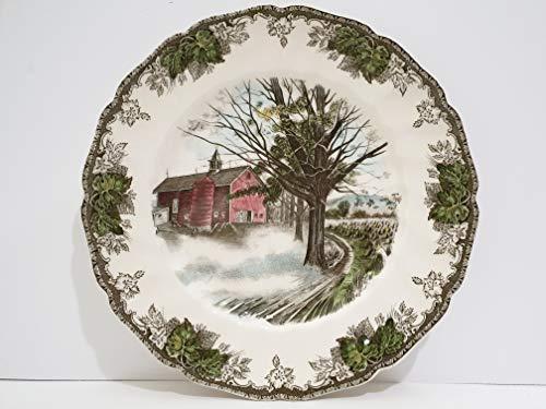 Village Dinner Plate Friendly - Johnson Brothers The Friendly Village Large Dinner Plate - Autumn Mists