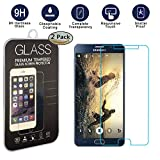 Galaxy Note 5 Screen Protector [2 Pack], KYAL Glass Screen Protector- [Tempered Glass] 9H Hardness, Bubble Free, Extra thin Screen Protector for Samsung Galaxy Note 5